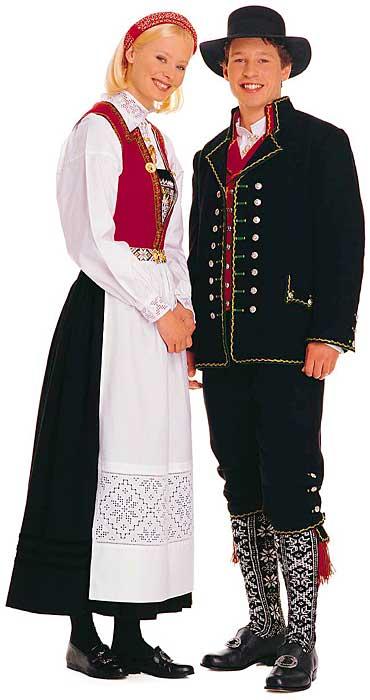 BUNAD- национальный костюм НОРВЕГИИ.
