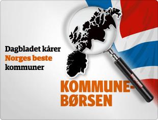 Kommuneb�rsen - Dagbladet k�rer Norges beste kommuner.