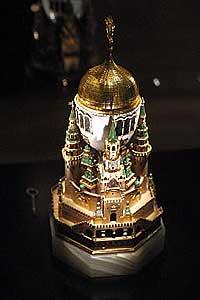 Påskeegget som tsar nikolai den 2 gav til keiserinne alexandra