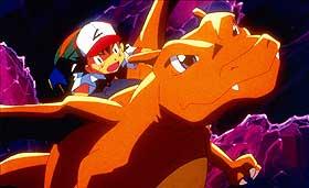 FARGERIKT:  «Pokémon 3» gjør i alle fall et eksplosivt synsinntrykk.