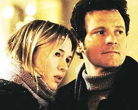 SEXY: Colin Firth kler rollen som den skikkelige Mark Darcy - en advokat i verdensklasse som interesser seg for skravlebøtta Bridget Jones (Renée Zellweger).
