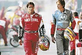 RACER-SÅPE:   Kim Pardue og Sylvester Stallone spiller racerbilsjåfører med høyt turtall på alle områder.
