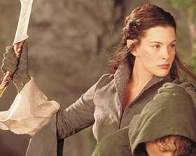 ALVEPRINSESSE: Liv Tyler �tilf�rer et actionmettet, nattsvart eventyr n�dvendig ynde og varme�, skriver v�r anmelder.
