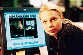 KRIMREPORTER: Helena Bergström er en glimrende hovedrolleinnehaver i «Sprengeren». Men filmen imponerer ikke Dagbladets anmelder.