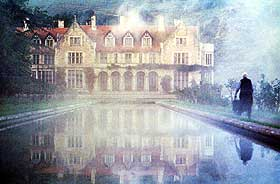 UHYGGE: Herskapshuset hvor spøkelseshistorien finner sted.