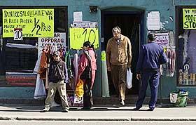 SMELTEDIGEL:  Grønland i Oslo er en bydel som tiltrekker seg svært mange innvandrere. Ikke minst fargerike og varierte forretningsetableringer vitner om det.