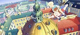 GÅR TIL VÆRS:  Karlsson tar med Lillebror til et spennende liv på taket i Vibeke Idsøes sjarmerende animasjon om den berømte råtassen. Litt for snill er han blitt på det store lerretet, selv om han et par steder fyrer av skremmeskudd med pistol.