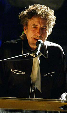 Bob Dylan in Oslo 2003