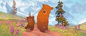 FLOTTE BILDER:  Visuelt er det ikke noe å si på «Min bror bjørnen», Disneys nyeste animasjonsfilm.