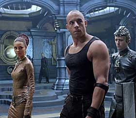 KABOOM: Vin Diesel i kjemper mot universets ondskap.