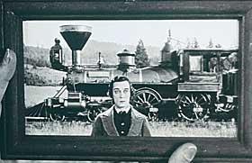 NY UTGAVE:  Buster Keaton i mesterverket «Generalen», nå i nyoppusset utgave på kino.