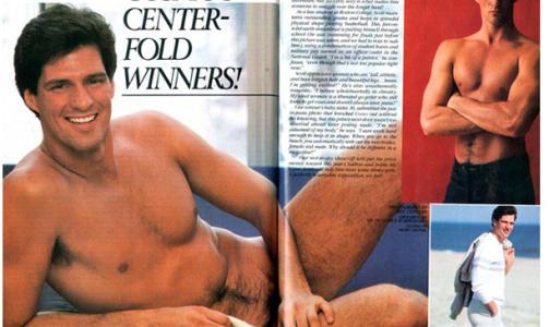 MEST SEXY: I 1982 ble jusstudenten Scott Brown k�ret til USAs mest sexy mann i damebladet Cosmopolitan. N� kan han true hele Obamas politiske agenda.  Faksimile: Cosmopolitan