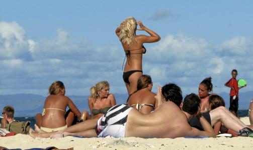 Standa p� Beachcomber Island er herlig. Flickr.com av sobri