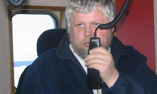 KJENNER SEG IKKE IGJEN: Skipper Karl Angelsen reagerer p� rapporten fra selfangstinspekt�ren om bord M/S Kvitungen, og mener den gir et helt feil bilde av det omstridte selfangsttoktet han ledet i fjor v�r. Foto: Privat