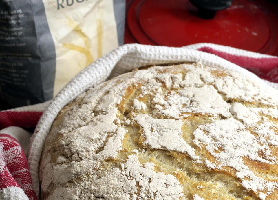Oppskrift brød bakerovn