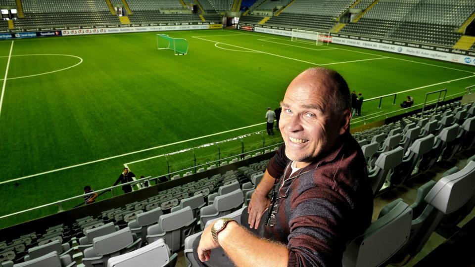 VIL HA LANDSKAMPER TIL TELENOR ARENA: Ingebrigt Steen Jensen f�ler Stab�ks hjemmebane omsider er i ferd med � f� den aksepten den fortjener. Foto:  Erik Berglund / Dagbladet