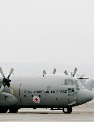 Regjeringen tilbyr Hercules-fly til ebola-rammet land