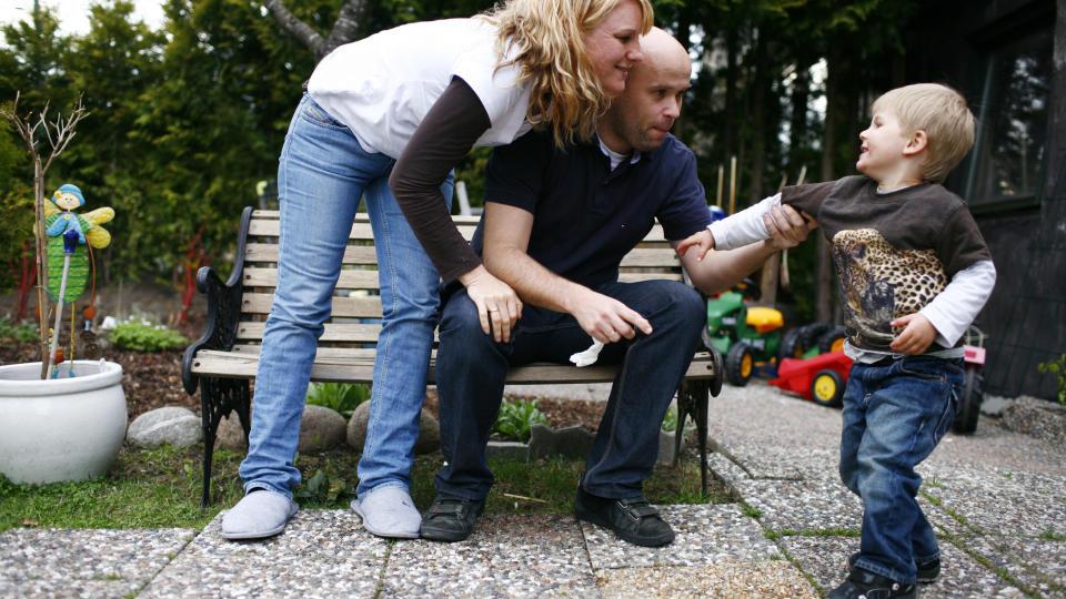 Trygghet: Det kan v�re tryggest for barnet at mor har hovedansvaret, sier Trond Markestad. Foto: Sara Johannessen / SCANPIX