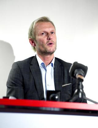 M�TTE SVARE: Daglig leder i Brann Lars Moldestad. Foto: Marit Hommedal / SCANPIX
