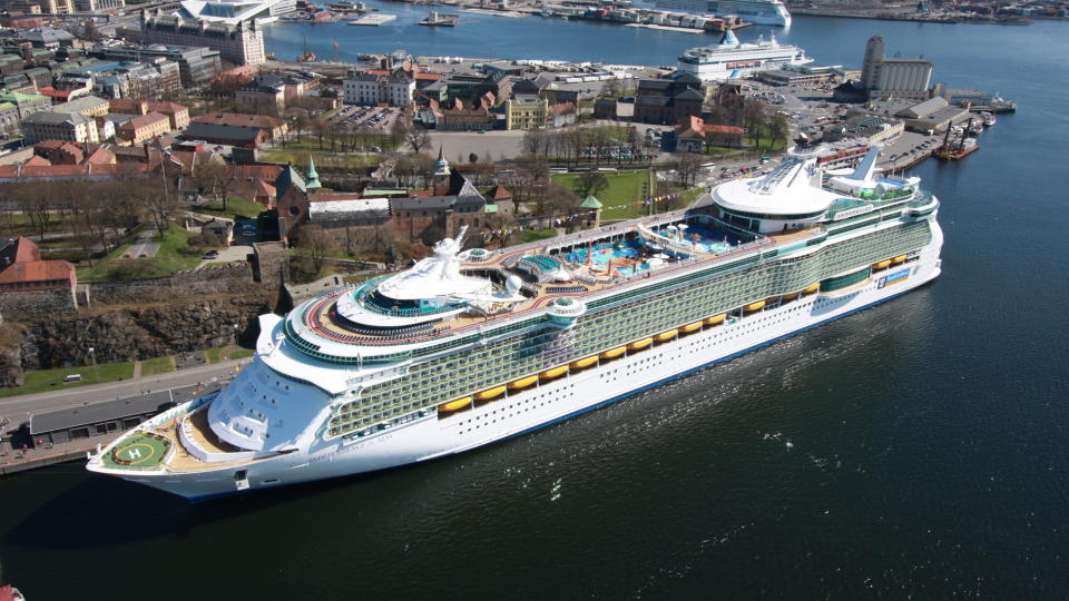 Største cruiseskip i norge