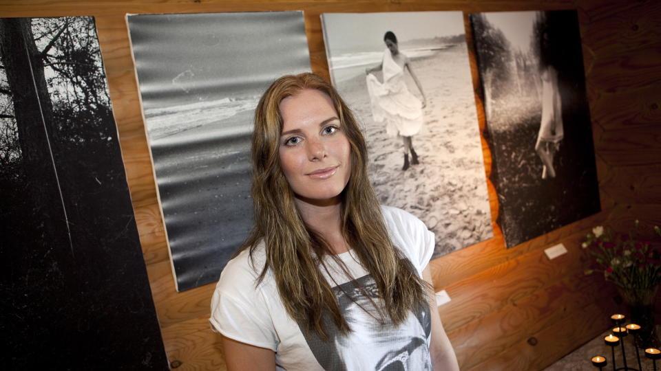 SKAPTE KONGELIG SKANDALE: Tora Uppstr�m Berg ble nedringt av pressen da Se og H�r skrev om hennes natt med prinsesse Madeleines forlovede, Jonas Bergsr�m Foto: Ole Morten Melg�rd.