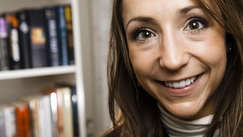 UTSATT FOR MOBILROT: Mette Hanekamhaug synes hendelsen er skremmende. Foto: Håkon Eikesdal / Dagbladet