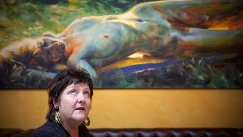 - FORKASTELIG: Anne B. Ragde har selv meldt seg ut av Forfatterforeningen fordi hun misliker at etablerte forfattere blir tildelt stipend. Foto: Ole Morten Melg�rd / Dagbladet