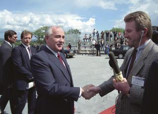 Karriere: I 1980 fikk Steinfeld sin f�rste periode som Moskva-korrespondent. N� begynner han p� sin fjerde. Foto: Terje Bendiksby / SCANPIX