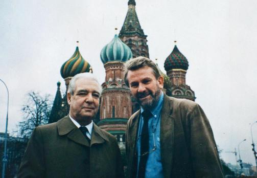 Moskva: P� Den r�de plass med generaloberst Viktor Grusjko, nestleder i KGB under Gorbatsjov og eks-spion.