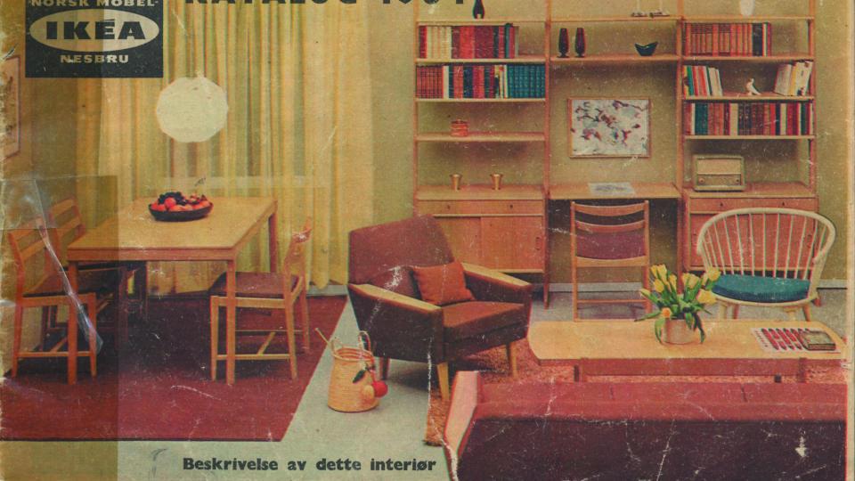 Blog d co solovely d coration vintage ikea for Catalogue deco