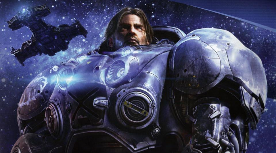VELGER FRA �VERSTE HYLLE: Spillselskapet Blizzard vil ha James Cameron til � regissere filmen basert p� �StarCraft�. Foto: Blizzard Activision