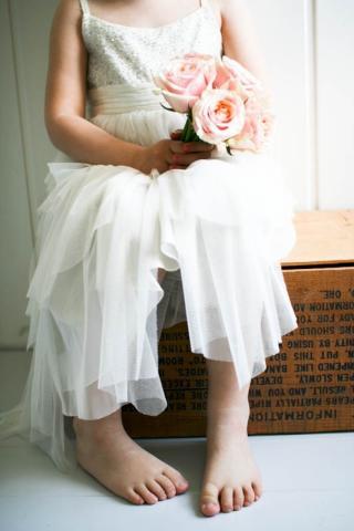 Blomsterpike: Kristina Landro Olsen har ogs� en blogg om brudebuketter.