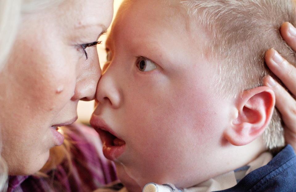 OVERLEGEN VINNER: Mange mener flere internettforaer er grunnen til at Mikael (5) ble �rets Lano-unge. Men han ville vunnet uansett, sier Lilleborg. Foto: Jo Straube / Dagbladet