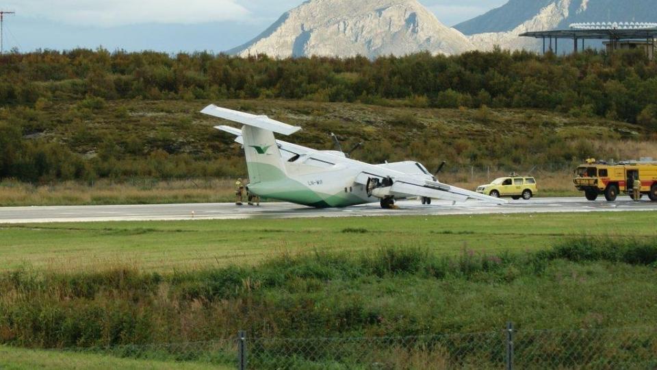 Dash 8 incident at Sandnessjoen airport, Norway - PPRuNe Forums