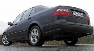 SVENSK BORG: Saab 9-5 har akkurat gjenoppst�tt, den gamle modellen var kjent for � v�re en solid konstruksjon. FOTO: Terje Bj�rnsen