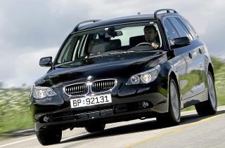 KJ�REMESTER: Akkurat som i kompaktklassen er det BMW som vinner p� kj�reegenskaper. Egil Nordlien HM Foto
