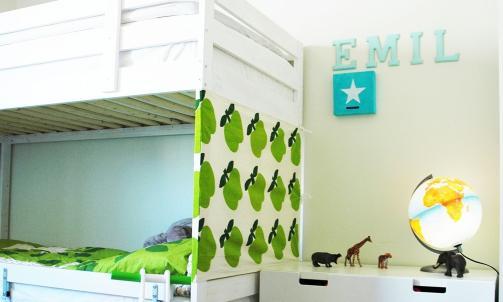 Shinedesign: Her fra kreative grep p� barnerommet til Emil.