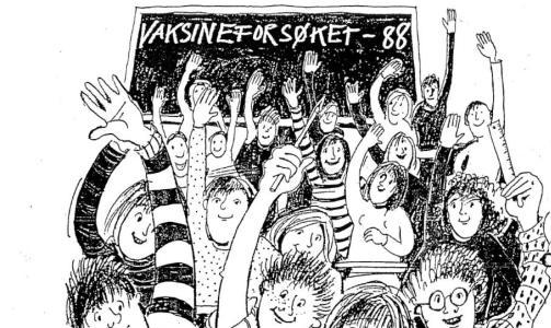 GIGANTFORS�K: Mellom 1988 og 1991 ble 180 000 ungdomsskoleelever vaksinert mot hjernehinnebetennelse. Foto: Folkehelseinstituttet