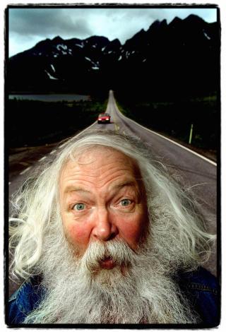 HIT THE ROAD, JACK: Jack Berntsen med sitt karakteristiske skjegg. Foto: L