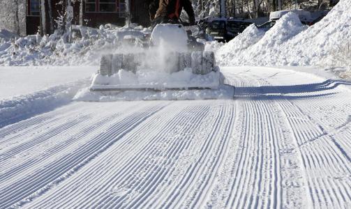 GEILO: Vakkert med jomfruelig sn�. Foto:  Kristian Holm., Destinasjon Geilo