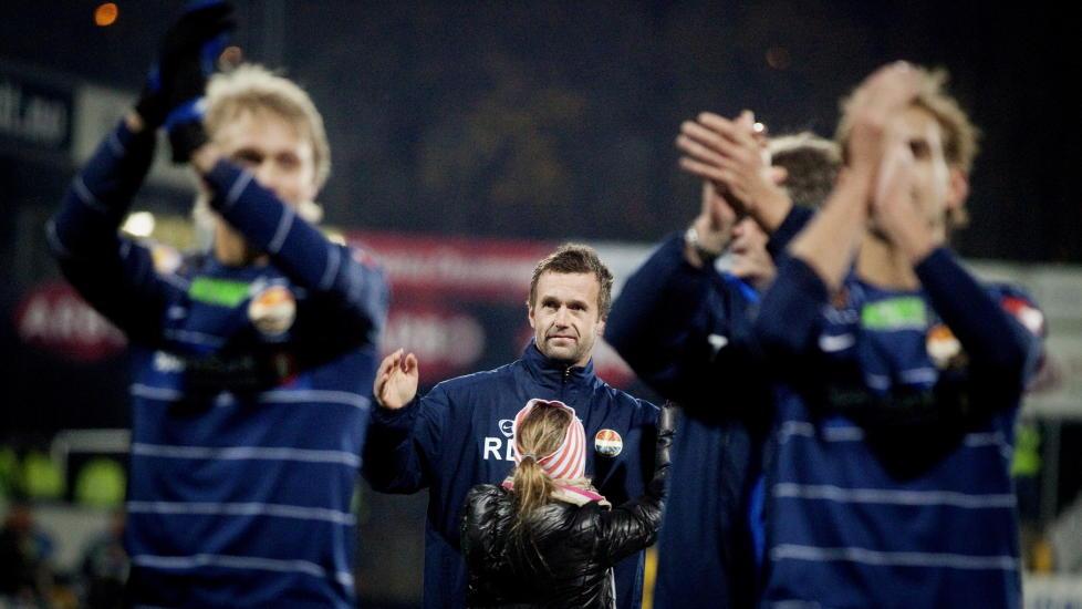 KLAR FOR EUROPA - UANSETT: Ronny Deila kommer til � lede Str�msgodset i Europa League uavhengig av utfallet i cupfinalen mot Follo.Foto: Kyrre Lien / Scanpix