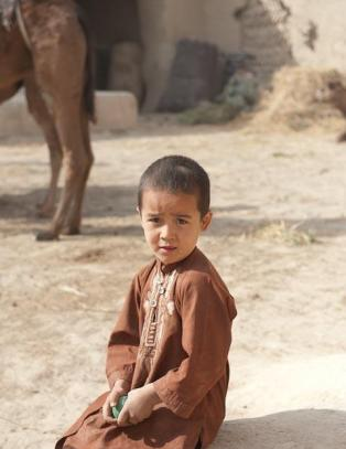 Annenhvert minutt d�r et afghansk barn