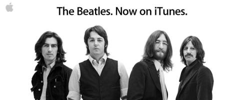 The Beatles er i iTunes
