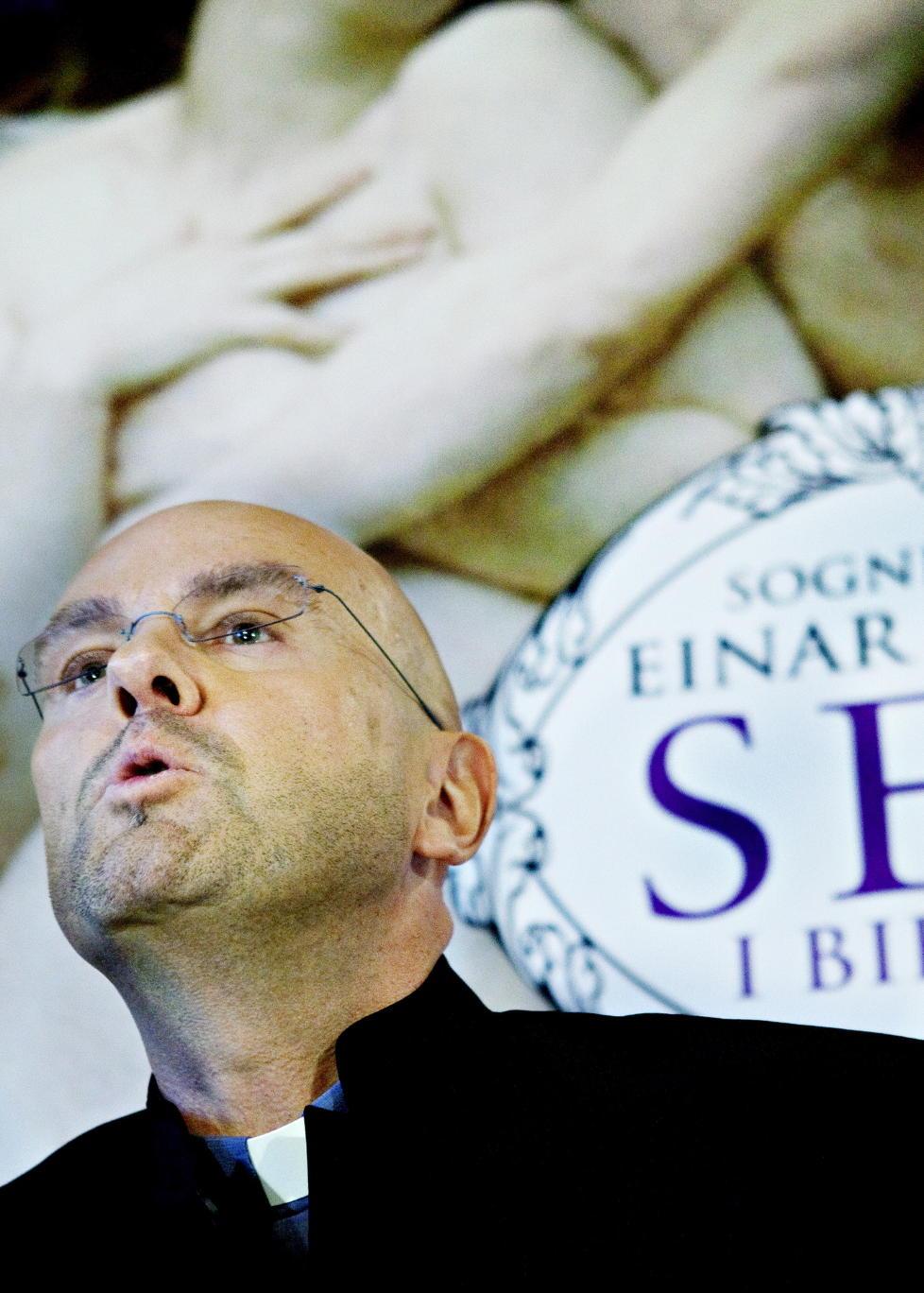 KONTROVERSIELL: Boka «Sex i bibelen» skal vare grunnen til at biskop Ole Christian Kvarme nå ønsker å åpne avskjedssak mot Vålerenga-presten.  Foto: Nina Hansen / Dagbladet