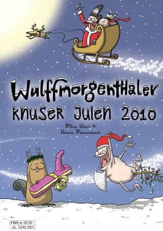 NYKOMMER: Wulffmorgenthaler debuterer med julehefte i �r, og f�r skryt av anmelderen.