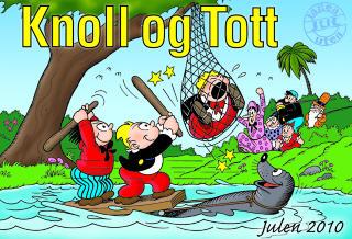 HOLDER STAND: Knoll og Tott er fast juleinventar i mange norsk hjem, og det nye juleheftet f�r god kritikk.