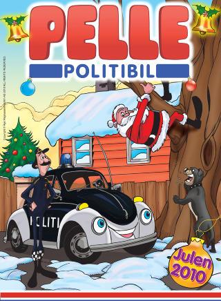 PELLE POLITIBIL: Julehefte for den yngre garde. Men ungene fortjener bedre enn dette, mener anmelderen.