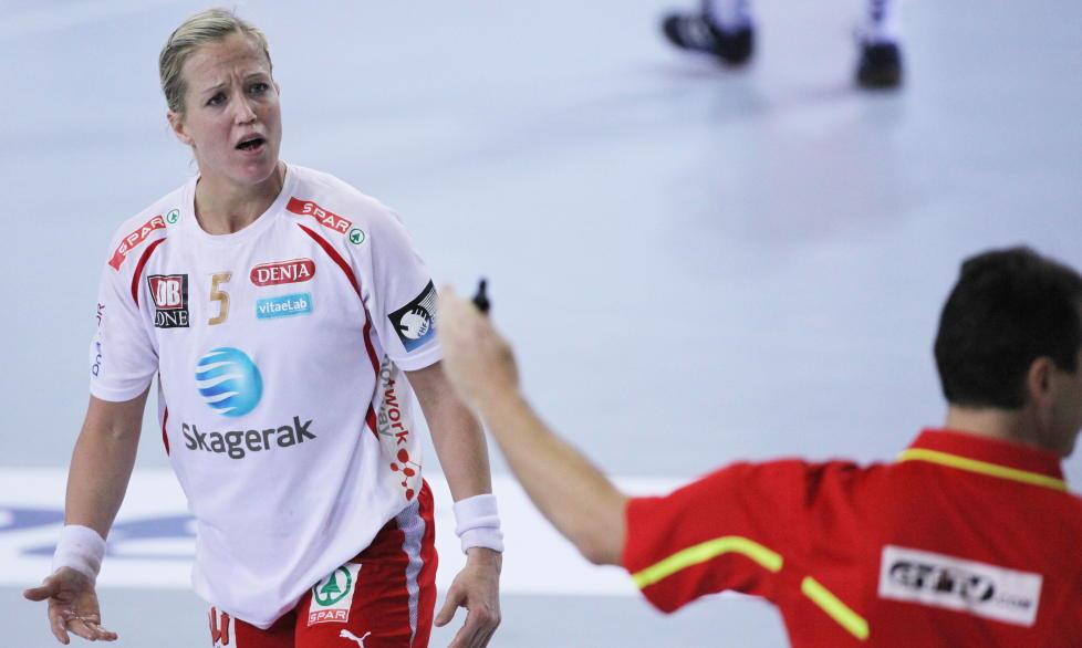 FORLATER LARVIK: Ungarske Gy�r blir trolig ny arbeidsgiver for Heidi L�ke.  Foto: Trond Reidar Teigen / SCANPIX