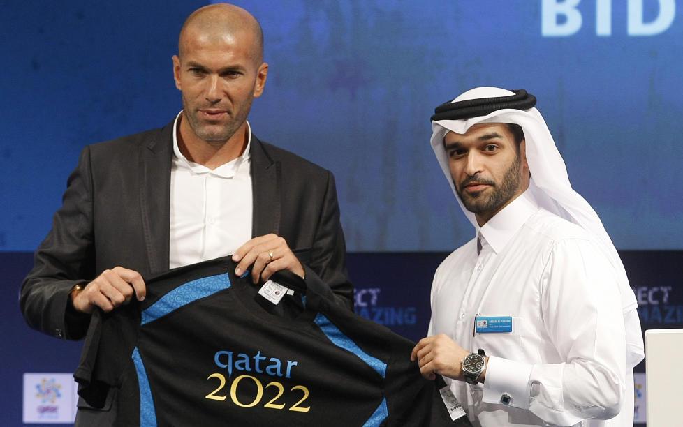 Slik skaffet Zidane Qatar fotball-VM - sport - Dagbladet.no