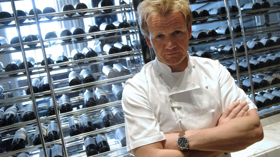 SLITER �KONOMISK: Gordon Ramsay har hatt store �konomiske problemer med sine internasjonale satsinger, hvor restaurantsuksessen lar vente p� seg. Her i Versaille i Frankrike. Foto: Stephane De Sakutin/AFP/Scanpix